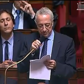 Question au gouvernement de M Pierre Aylagas