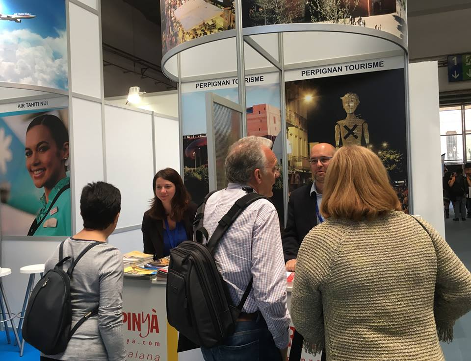 Barcelone pr sence de la ville de perpignan au salon international du tourisme - Office du tourisme barcelone ...