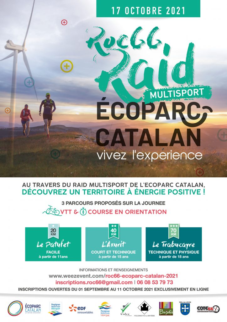 Baixas / Sunday October 17: 1st version of the RAID-ROC'66 of the Catalan Ecoparc